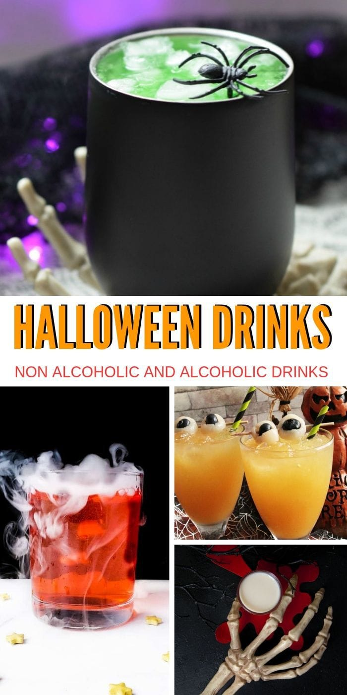 Fun Halloween Drinks: Alcoholic and Non-alcoholic | Fun Halloween Drinks | Halloween Drinks | Spooky Drinks | Best Halloween Drinks | Horror Party Ideas | Decor and Punch for a Scary Party #halloween #partytime #cocktails #spookydrinks
