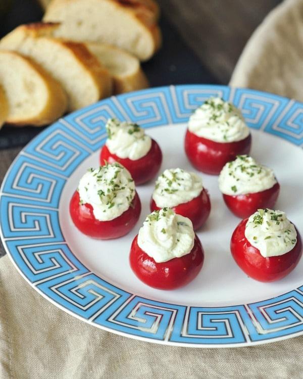 Herb Cheese Peppadew Sweet Peppers