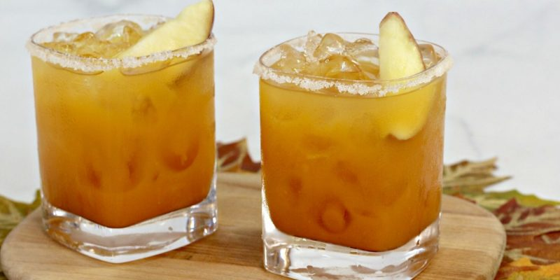 This fall margarita is delicious.