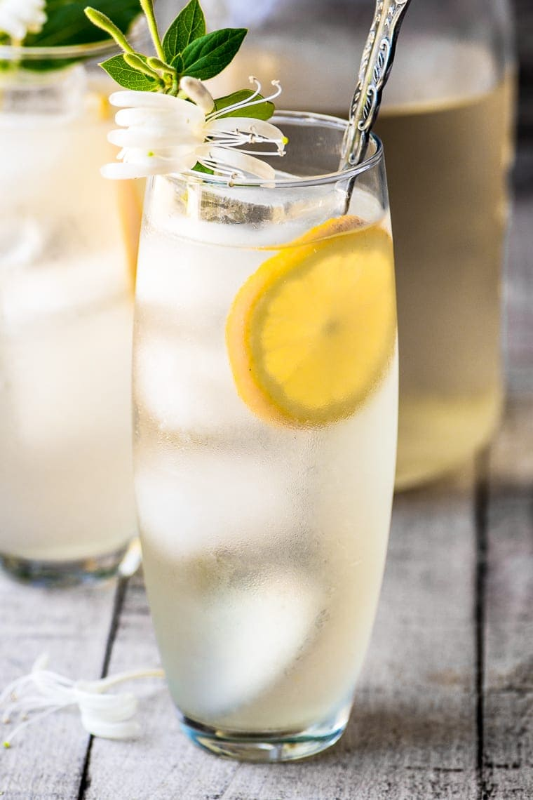 Honeysuckle Vodka Lemonade