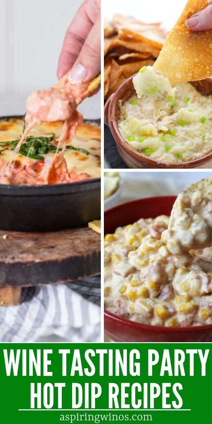 Hot Dip Recipes for a Wine Tasting Party
