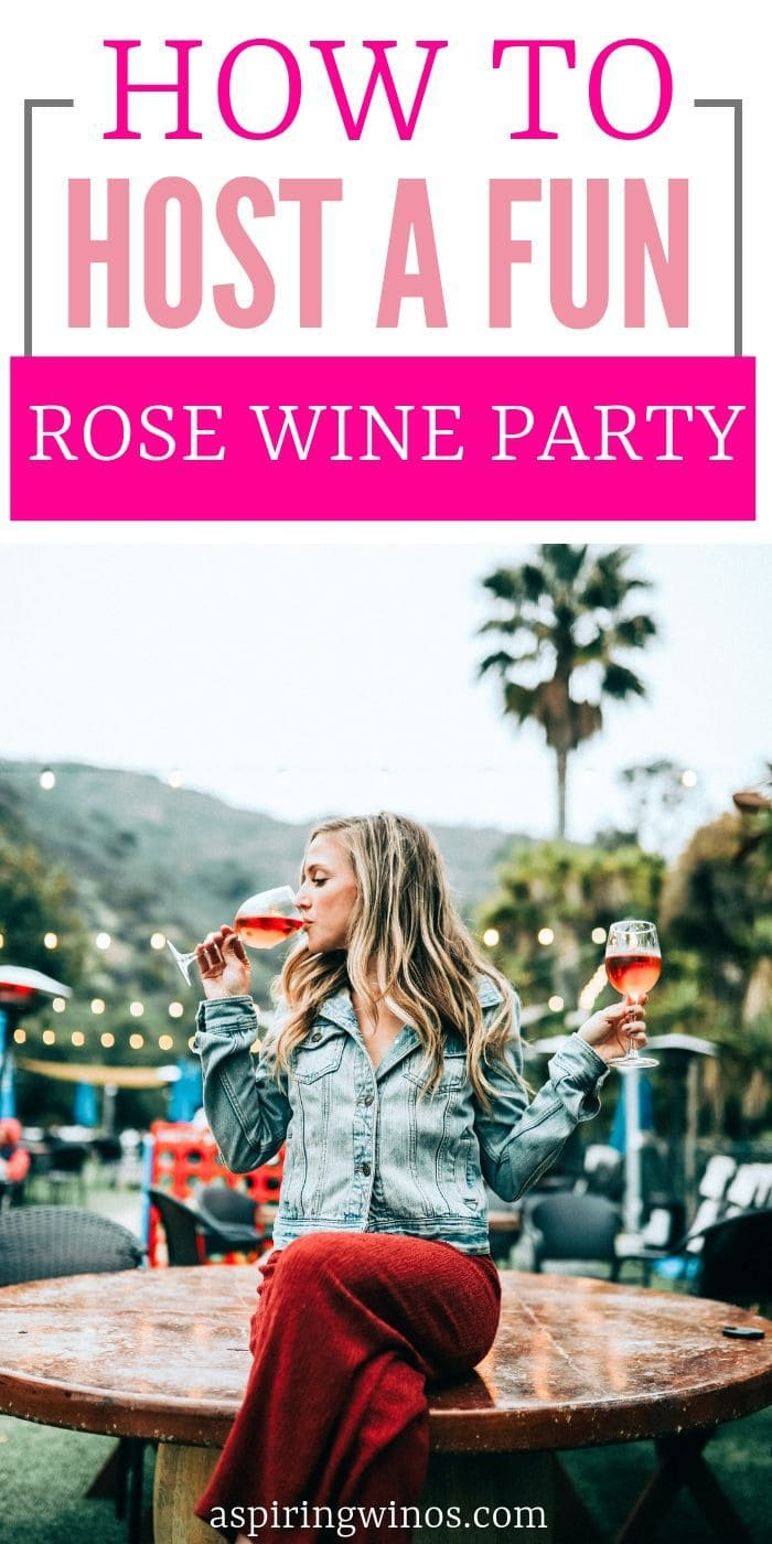 How to Host a Rose Wine Party | Hosting a Wine Party | Wine Party | How to Have the Best Wine Party | Rose Wine Party | #winenight #wine #party #rosewine