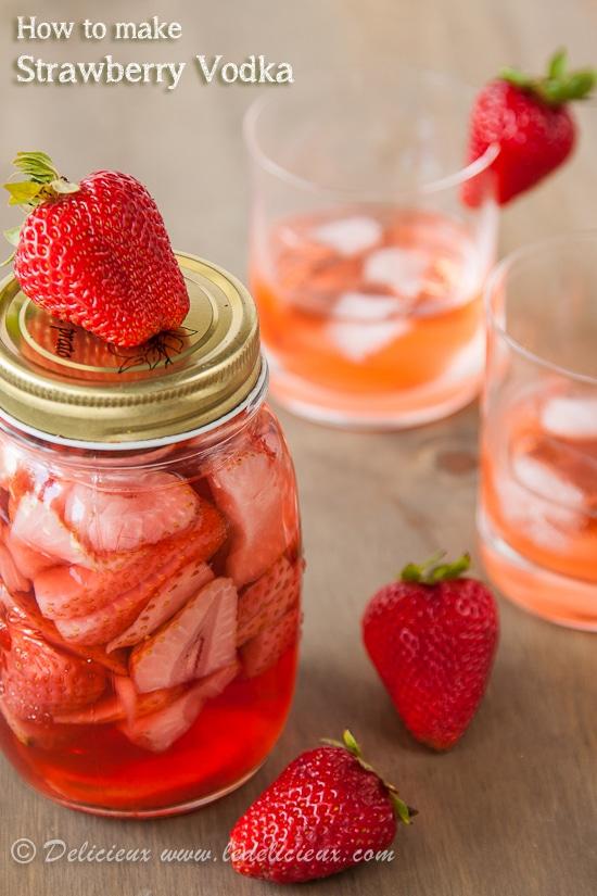Strawberry Infused Vodka