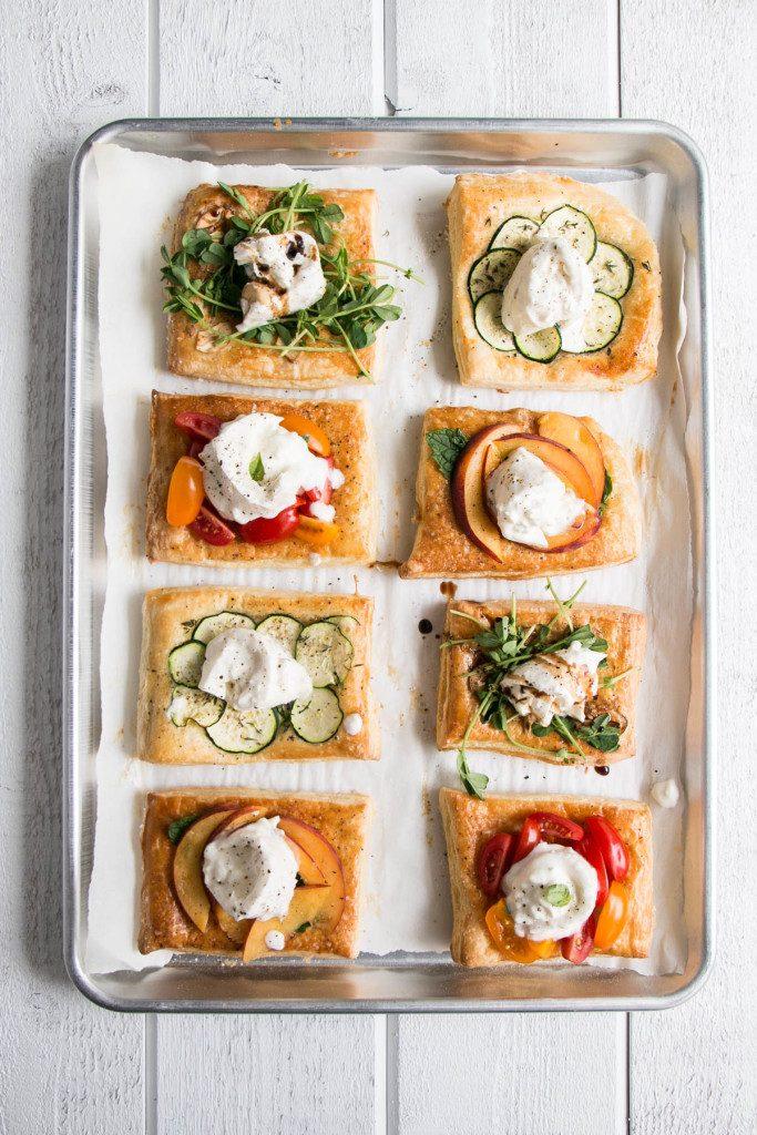 Burrata Tarts