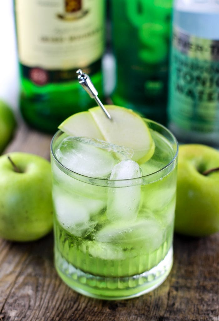 Green Cocktails To Celebrate St. Patrick's Day Without Beer - Irish Sour Apple Cocktail