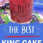 Mardi Gras Drinks   Mardi Gras Recipes   Red Cocktails   King Cake Flavored Drink   King Cake   Cocktail Recipes   #cocktail #mardigras #kingcake #recipe #cocktail