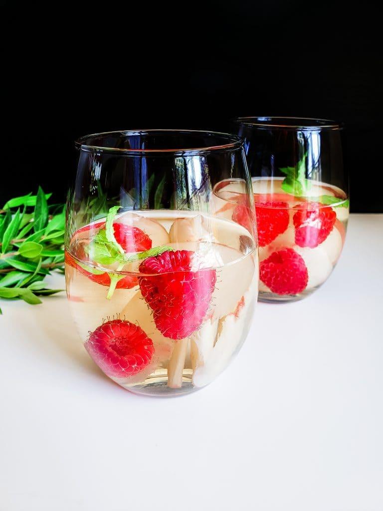 Raspberry Peach Sangria