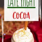 Santa's Late Night Cocktail   Crown Royal Cocktails   Warm Apple Flavored Cocktails   #cocktail #recipe #crownroyal #santacocktail