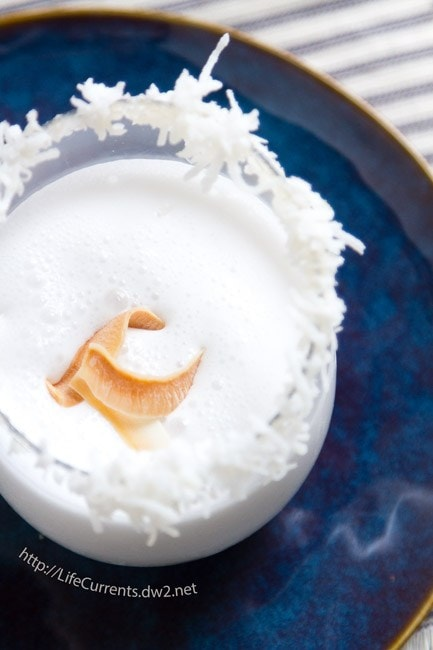 The Winter White Coconut Cocktail