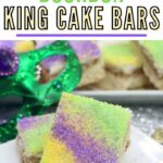 Mardis Gras Baking | Fat Tuesday Recipes | Recipes for Mardis Gras | Mardis Gras Bars | Bourbon Flavored Mardis Gras Bars | #MardisGras #fattuesday #baking #bars #recipes