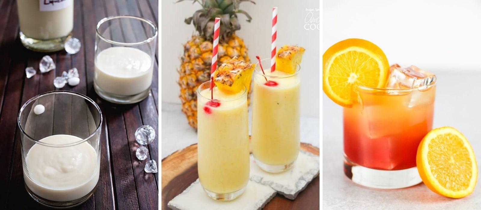 Marvelous Malibu Rum Cocktails| The Best Rum Cocktails| Malibu Rum Drinks Recipes| Easy Malibu Rum Drinks| Easy Malibu Rum Recipes| Rum Cocktails for a Crowd| #recipes #rum #rumcocktails #cocktails #maliburum #dairyfree