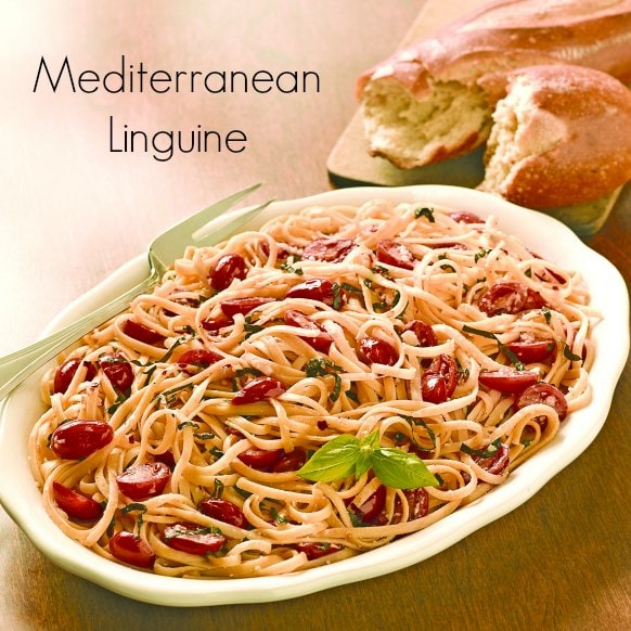 Tomato Based Dishes To Pair With Chianti - Mediterranean Linguine