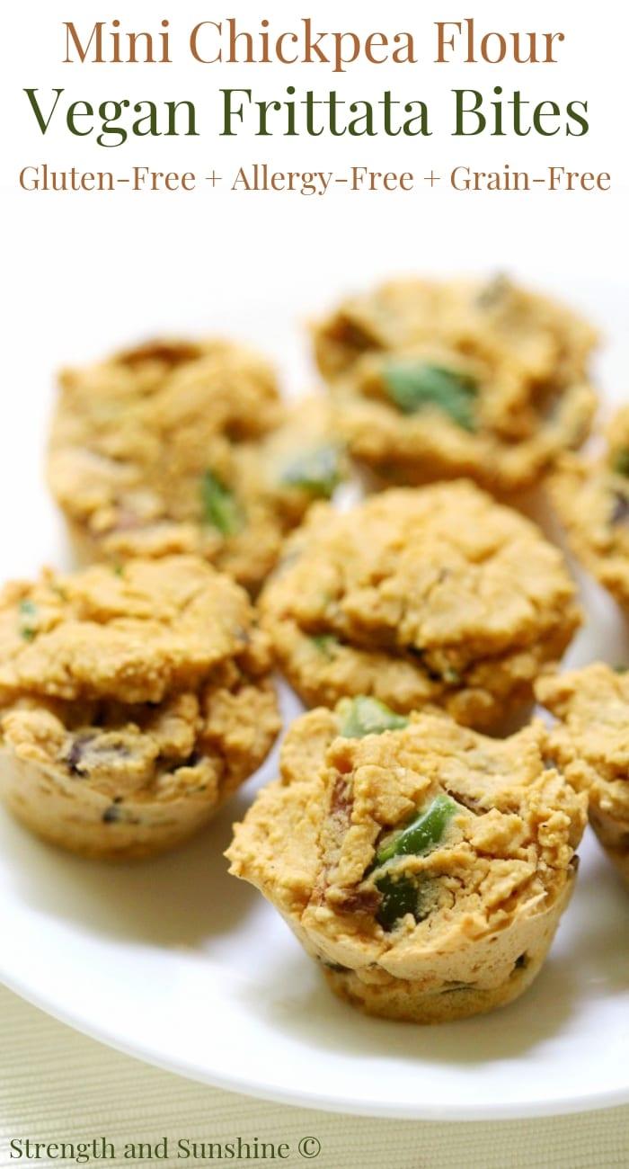 Vegan Frittata Bites