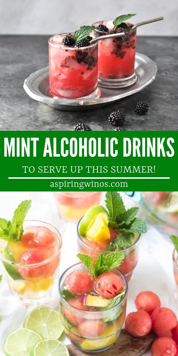 Delicious (alcoholic) Drinks That Use Mint