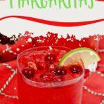Mistletoe Margarita | Winter Margaritas | Winter Cocktails | The Best Cocktails for Wintertime | What are the Best Cocktails for Winter | Christmas Cocktails | #margarita #tequila #Cocktail #recipes #cranberries