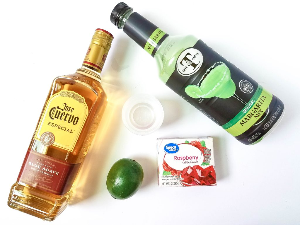 easy Margarita Jello Shots ingredients