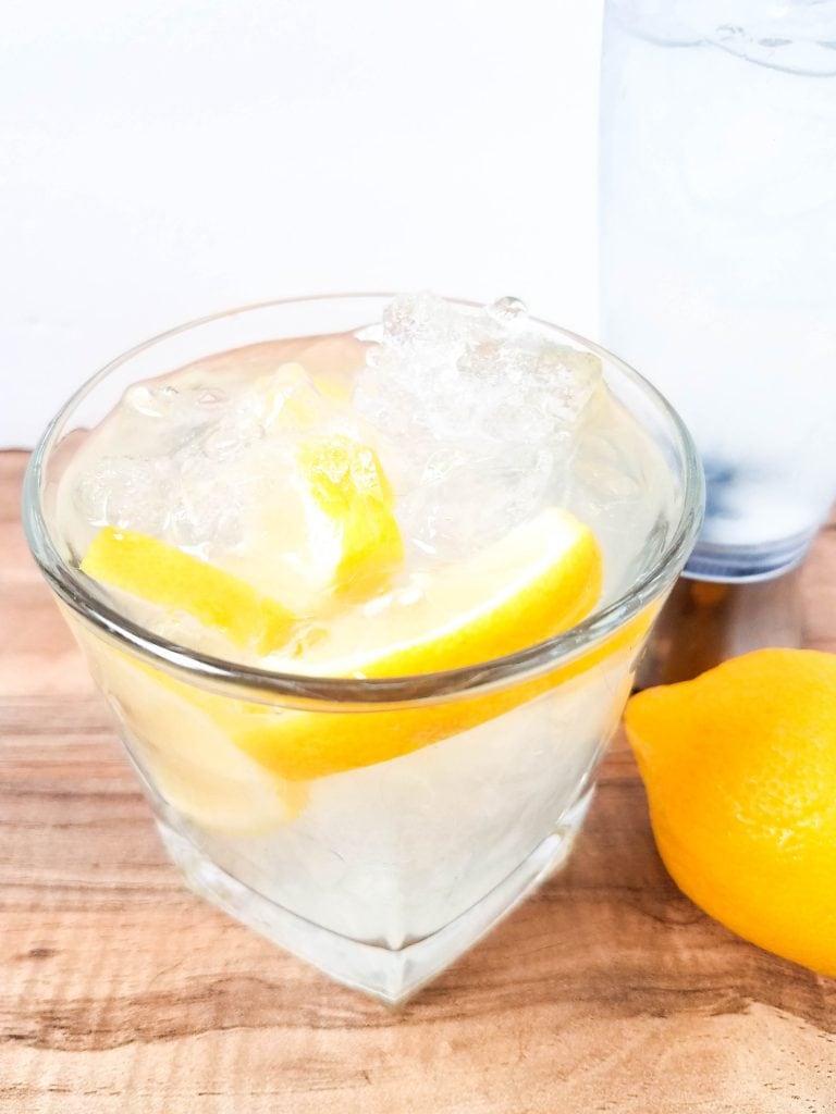 Garnish with Fresh Lemons