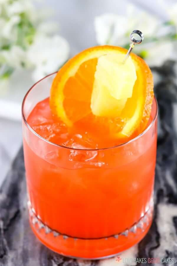 Orange Pineapple Rum Punch