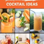 Peach Colored Cocktails | Peach Cocktails for Summer | Fruity Cocktails | Peach Flavored Cocktail Recipes | The Best Chilled Cocktails | Summer BBQ Cocktails | Sweet Cocktails | #cocktails #recipes #peach #sweet #alcohol