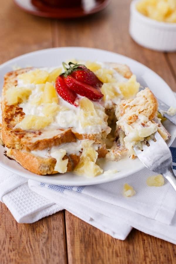 Piña Colada French Toast