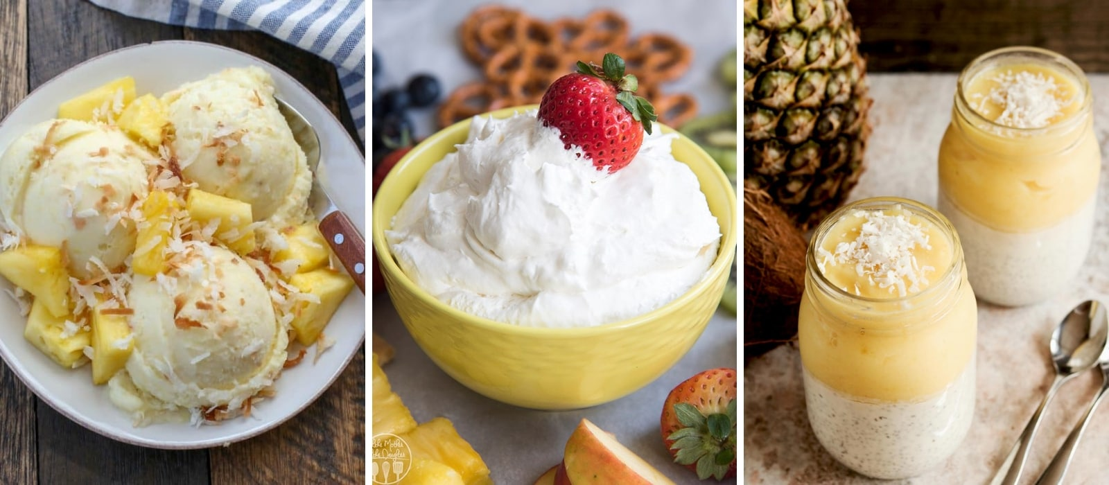 Best Pina Colada Inspired Recipe Roundup | If You Like Pina Coladas | Brunch Recipes | Pineapple and Cocount Recipes | Baking with Pineapple | Baking with Coconut | Pineapple Recipes | Coconut Recipes| #reciperoundup #pinacolada #cocktails