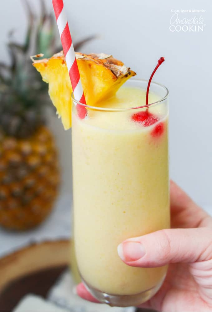Rum Cocktail Idea - Pineapple Rum Slush