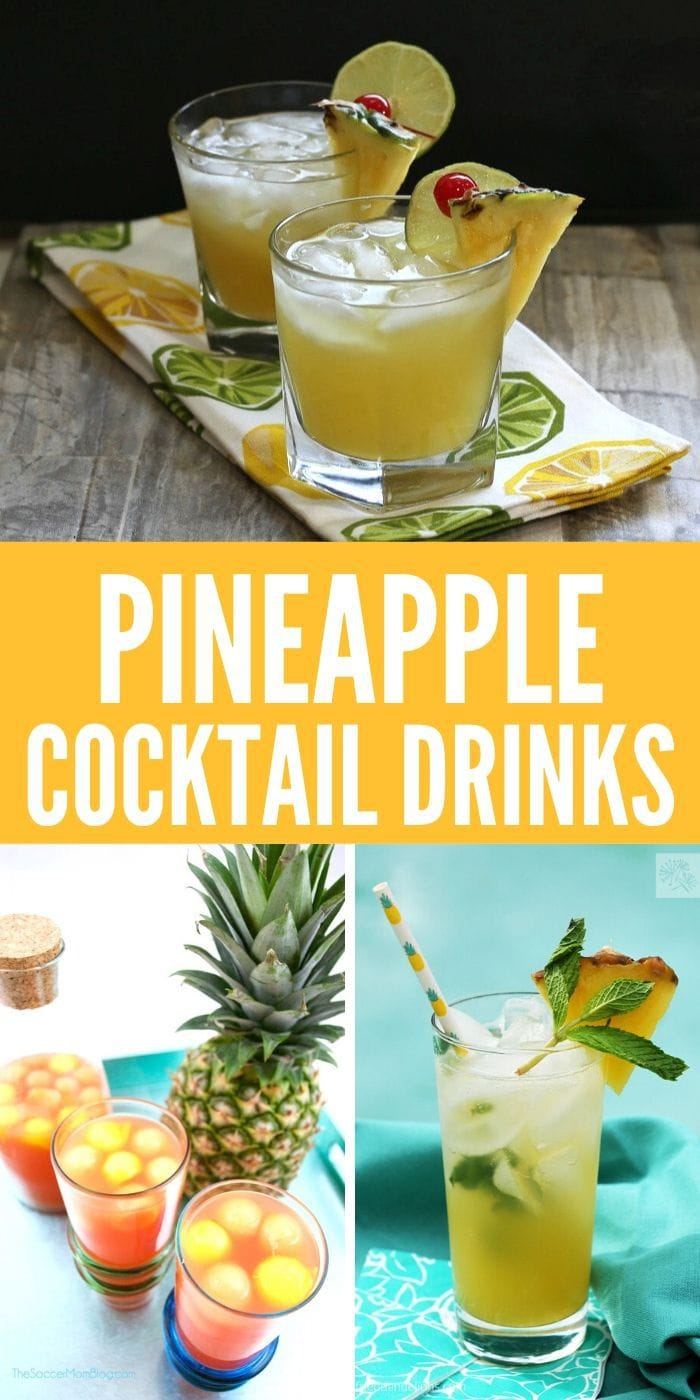 Cocktails With Pineapple Juice | What Alcohol Do You Use With Pineapple Juice | Pineapple Flavored Mixed Drinks | Boozy Pineapple Drinks | Mixed Pineapple Drinks | Pineapple Cocktail Recipes | #pineapple #cocktails #recipes #mixeddrik #alcohol