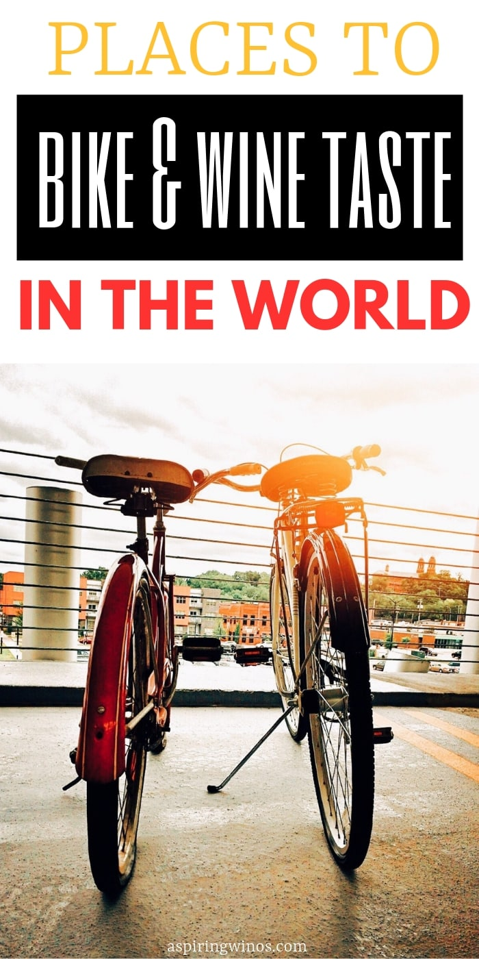 Amazing Places to Bike & Wine Taste in the World | Bike and Wine Tasting | How to Go Biking and Wine Tasting at the Same Time | Drink Wine While Bike Riding |  #bikeandwine #wine #biking #winetasting #wine&bike