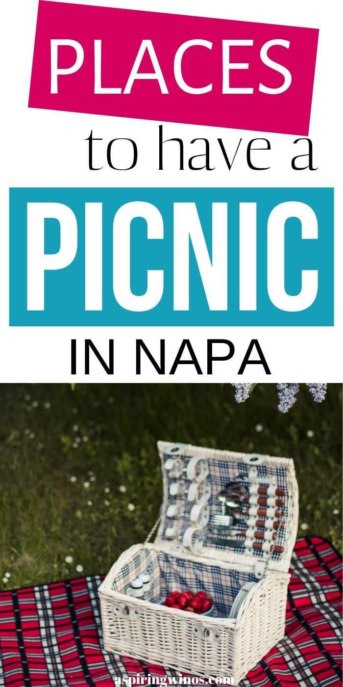 Napa Picnic Spots