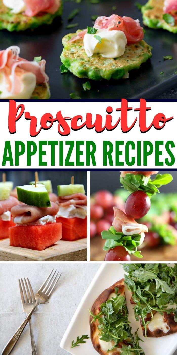 prosciutto appetizers