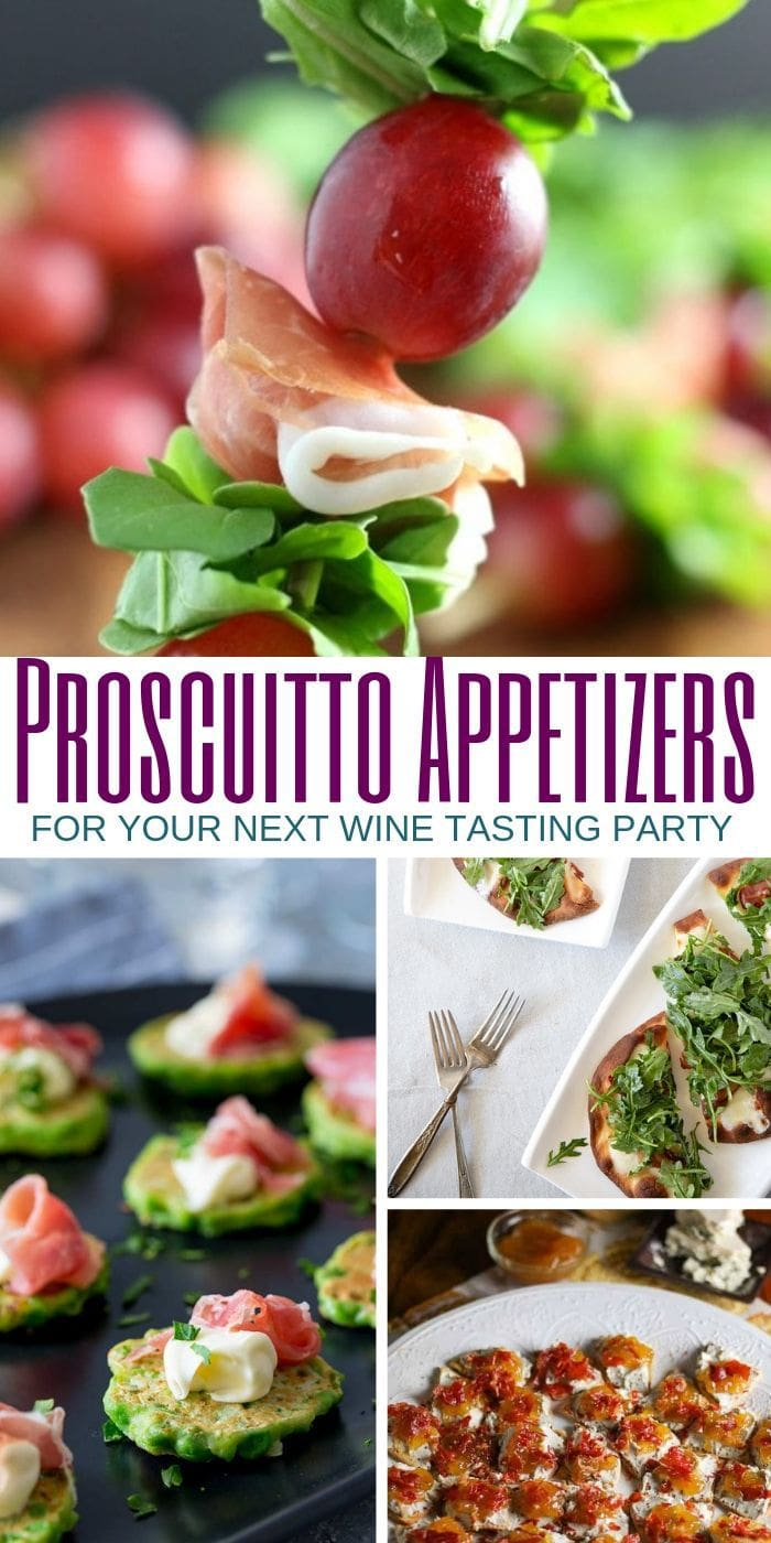 prosciutto appetizer recipes