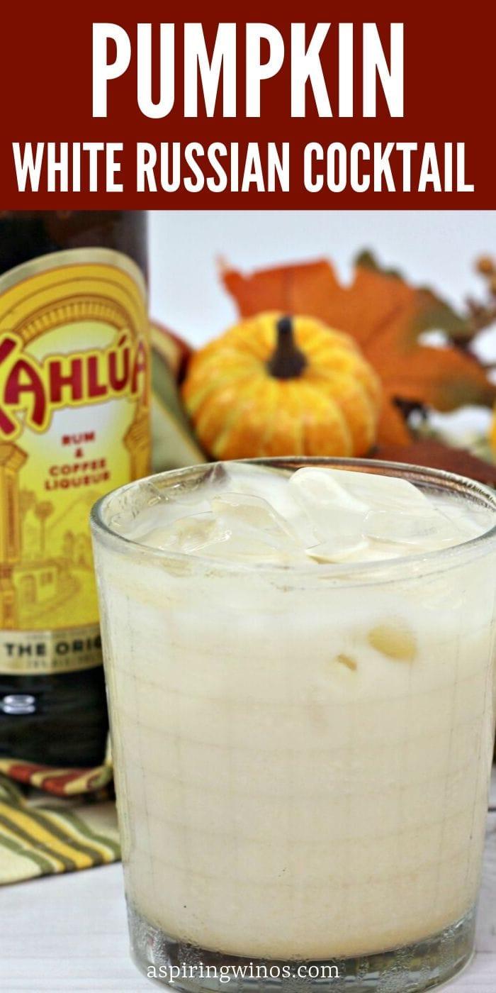 delicious pumpkin pie white russian recipe perfect for fall