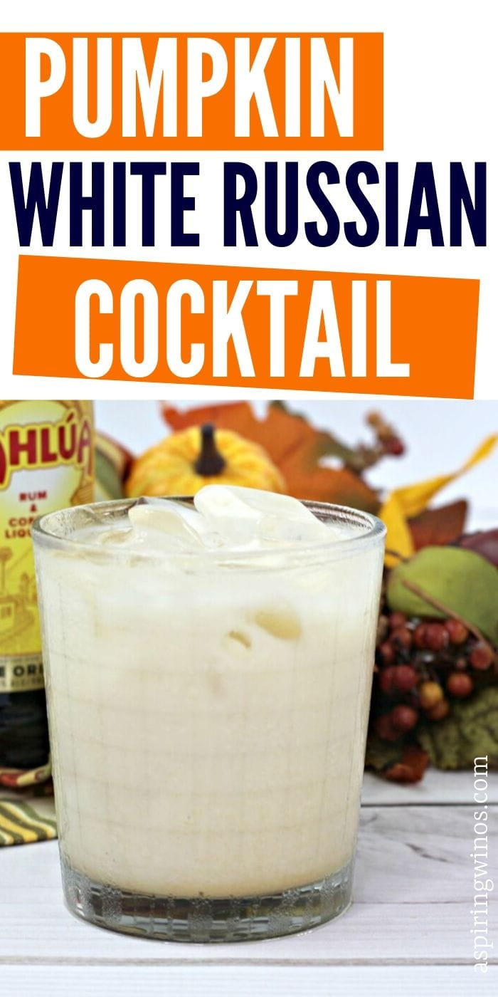 Pumpkin White Russian Cocktail Recipe