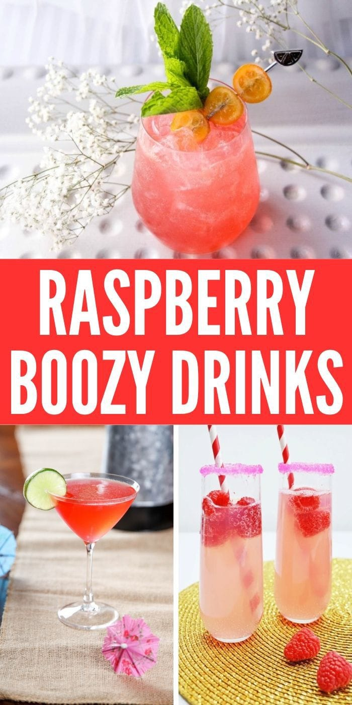 Raspberry Cocktail | Raspberry Flavored Drinks | Raspberry Drink Recipes | Raspberry Alcoholic Drinks | Cocktails with Raspberry | Tart Cocktails | Fruit Cocktails | #cocktails #raspberry #vodka #drinks #recipes