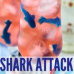 Shark Attack Mocktail | Gender Reveal Mocktail | Color Changing Cocktail | Fun Cocktial | Mocktails for Teens | Tween Mocktails | Birthday Mocktails | Birthday Shark Cocktail | Shark Lover Cocktail | #cocktail #genderreveal #sharkcocktail #shark #mocktail