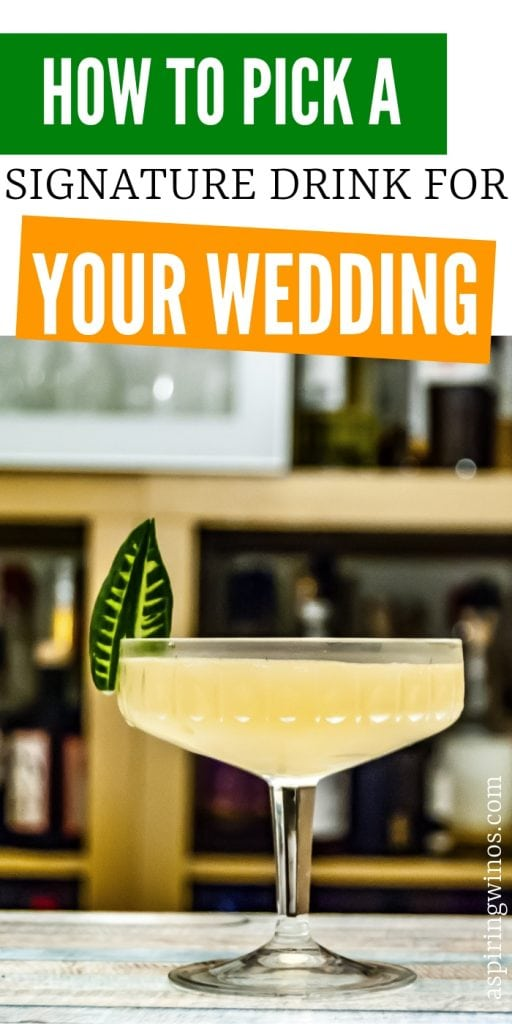 How to Pick a Custom Cocktail or Signature Drink for Your Wedding | Wedding Drinks | Wedding Toast Recipes | Custom Cocktails for Your Wedding | Pick a Signature Drink for Your Wedding | #signaturedrink #customcocktail #weddingcocktail #wedding #toast