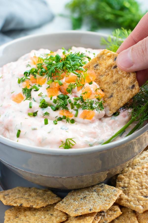 5-Minute Smoked Salmon Dip