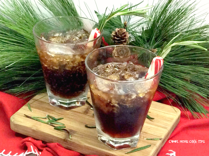 Sparkling Maple Whiskey Festive Fizz Drink: Surprisingly Refreshing!