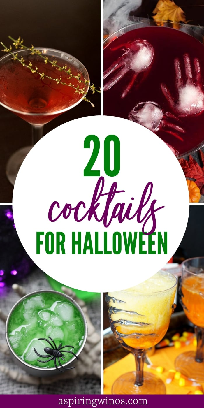 These spooky and delicious Halloween cocktails will be the most fun your #Halloween party guests have all year! These spooky alcohol drinks with vodka, gin, rum and even dry ice will make everyone feel like there are vampires and ghosts just around the corner. They're perfect for a crowd of adults looking to have a party on halloween. #cocktails #mixeddrinks #alcohol