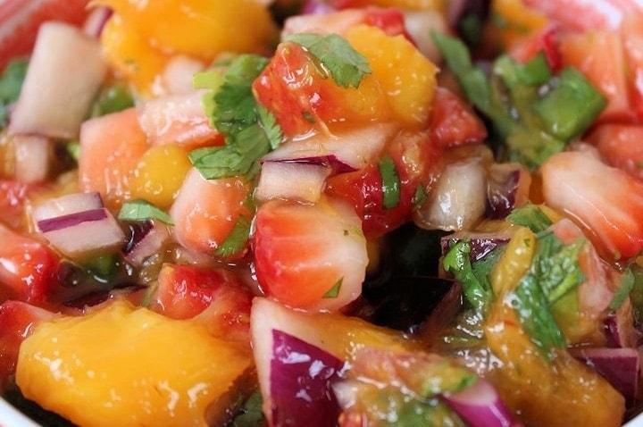 Strawberry Mango Salsa Recipe: Easy Fruit Salsa