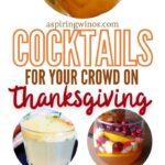 Fall Cocktails   Best Thanksgiving Cocktails   Apple Pie Cocktail   Pumpkin Pie Cocktail   Cinnamon Spice Cocktail   Pumpkin Themed Cocktails   Best Autumn Cocktails   Thanksgiving Entertaining Cocktails   #cocktails #thanksgiving #recipe #pumpkinspice