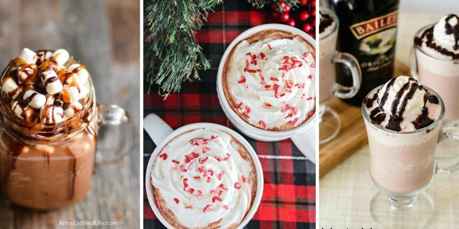 Boozy Hot Chocolate Recipes| Adult Hot Chocolate| Hot Chocolate for Adults| Winter Cocktails| Spiked Hot Chocolate| #boozyhotchocolate #wintercocktails #hotchocolate #adulthotchocolate