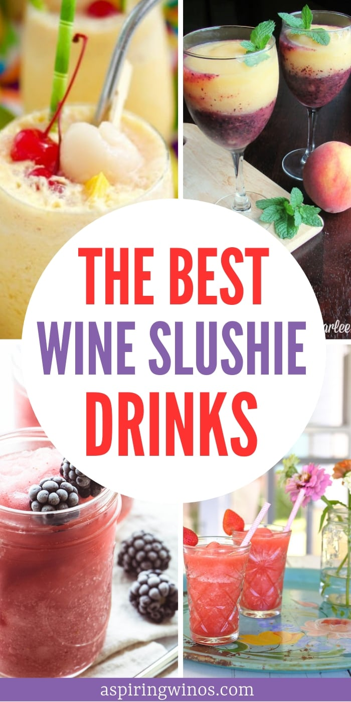 Best Wine Slushie Recipes