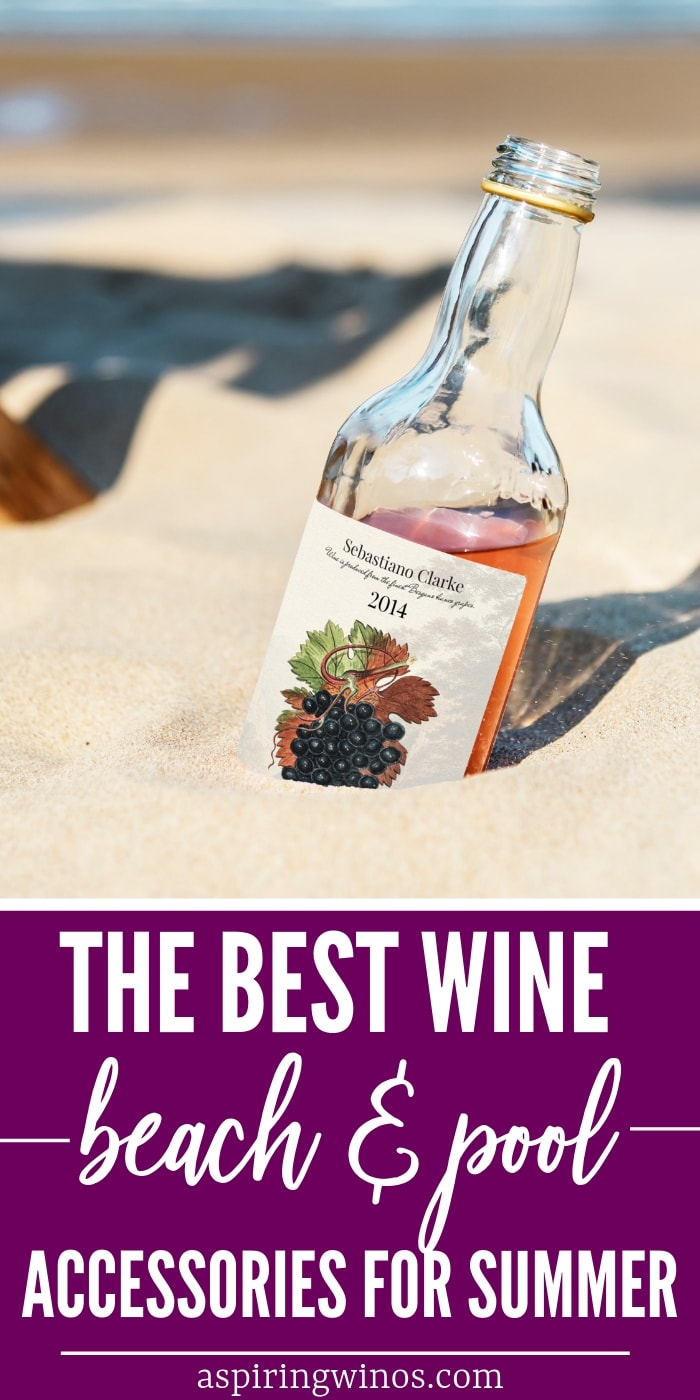 Wine-Friendly Beach & Pool Accessories