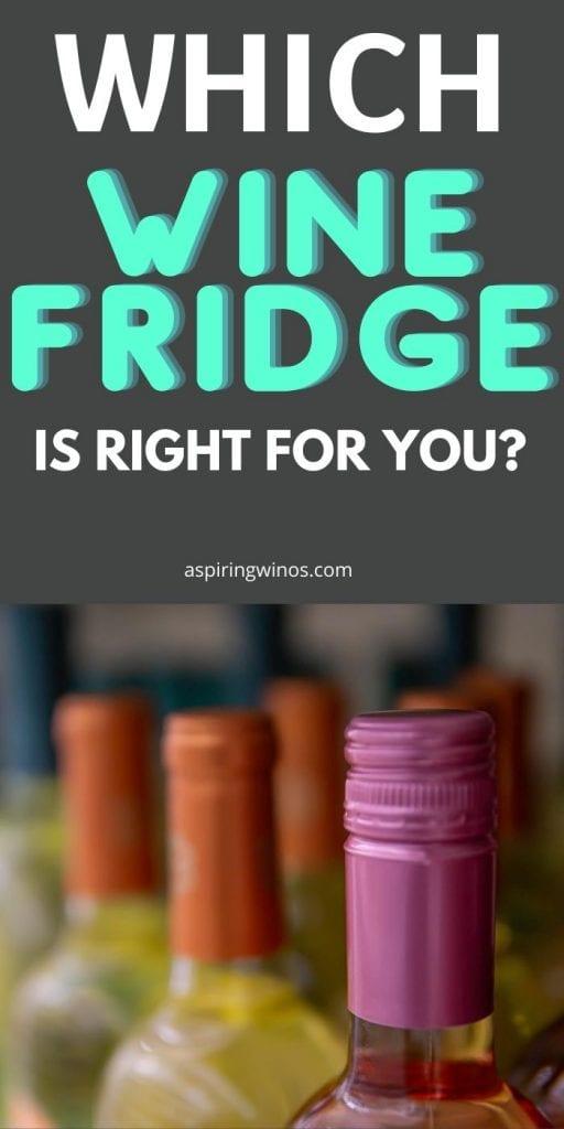 Best Wine Fridge | Wine Fridge Reviews | The Best Wine Fridge | Built in Wine Fridges | Wine Fridges for Storing Red and White Wine | #wine #winefridge #wineaccessories #appliances #reviews