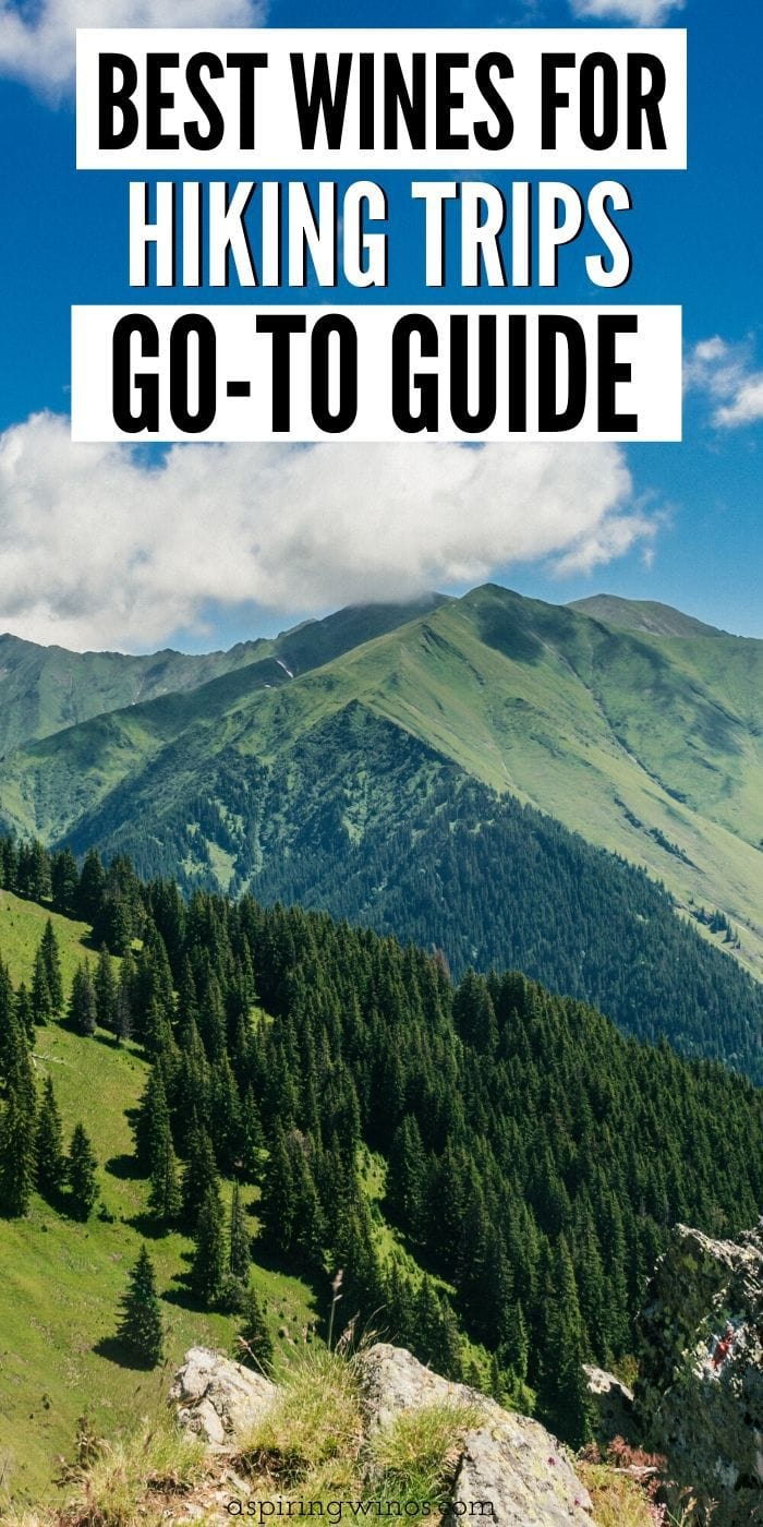 The Best Wines for Hiking Trips | Wine and Hiking | Wines to Bring on Your Hiking Trip | Best Wines for the Woods | Wines to Take Hiking |  #hiking #wine #wineandhiking #bestwine