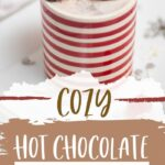 Cozy Hot Chocolate Cocktail   Cocktail made with Hot Chocolate   Rum Hot Chocolate   Marshmallow Cocktail Recipe   The Best Winter Cocktails   Christmas Cocktail   Festive Cocktail Recipe   Christmas Hot Chocolate Cocktail   #hotchocolate #cocktail #recipe #boozyhotchocolate #Christmas
