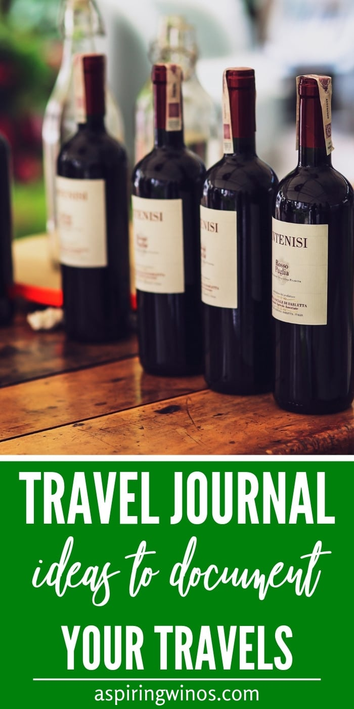 Travel journal ideas to document your travels | Tips on what to include in a travel journal | How to store travel memories | Travel writing prompts #travel #journal #vacation #memories