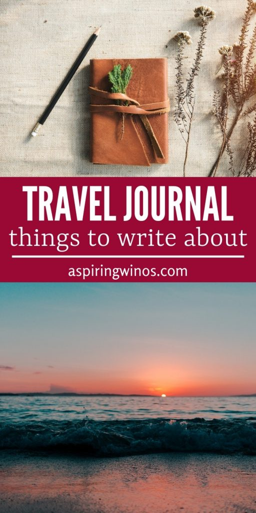 Learn what to write about in a travel journal with these great ideas. How to make a travel journal full of fun memories. There are all sorts of things to include in a travel journal, from journal prompts to ticket stubs and more. This list of ideas will help you remember everything from your trips and fill your travel journal pages with mementos and souvenirs that travel well. #travel #journaling #bulletjournal #journal
