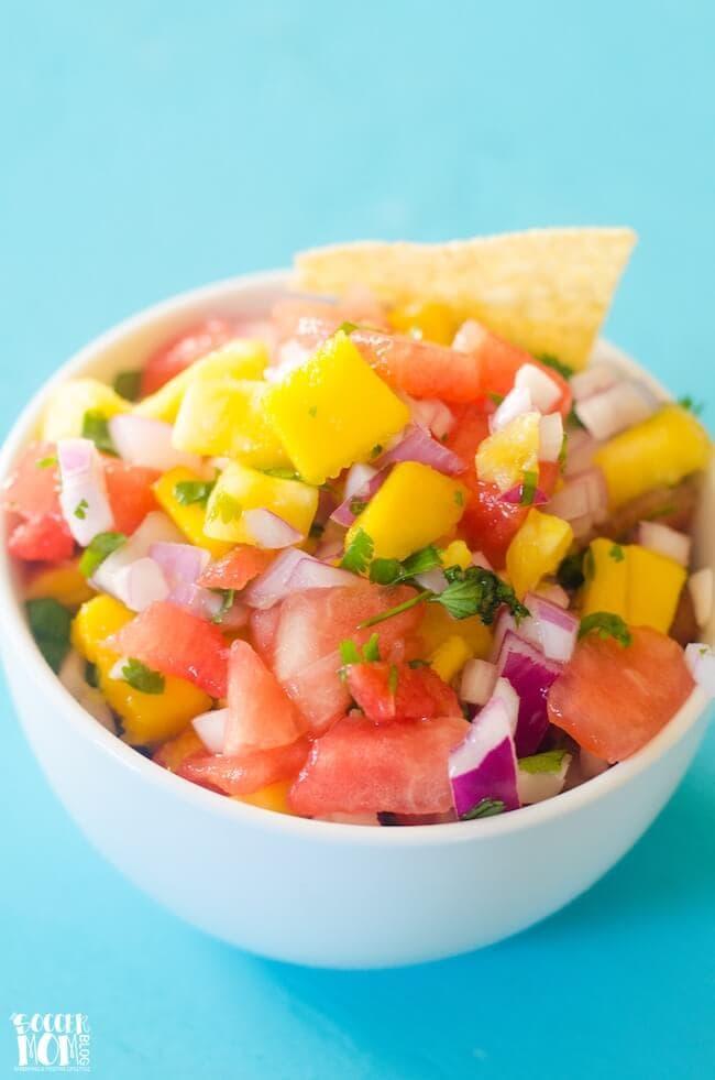 Tropical Watermelon Salsa